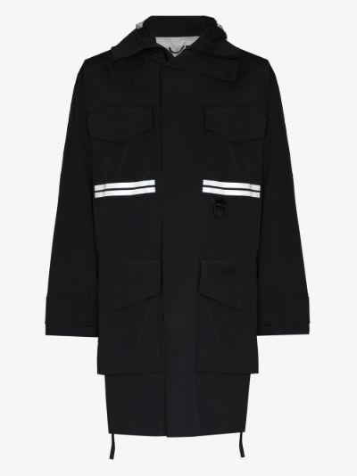 X Angel Chen Mogan hooded raincoat