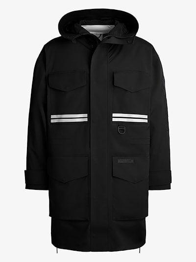 X Angel Chen Morgan hooded raincoat
