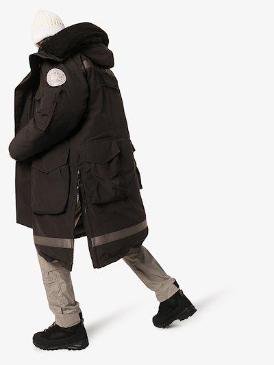 X juun.j Snow Mantra parka coat