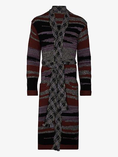 Shamanic Voyage long cashmere cardigan