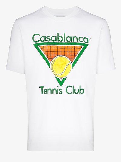 tennis club cotton T-shirt
