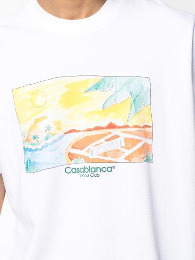 White Island logo T-shirt