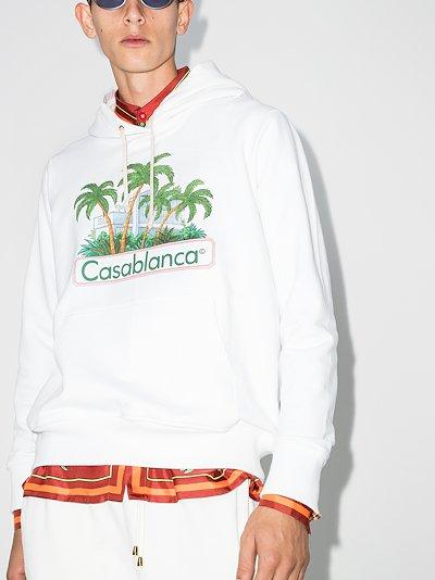 X Browns 50 island print hoodie