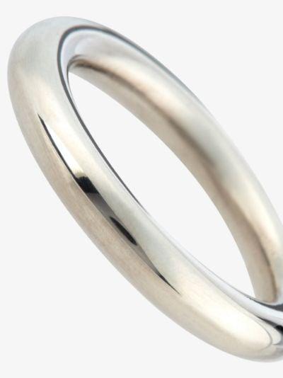 Sterling silver K ring
