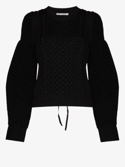 Fifi Open Back Sweater
