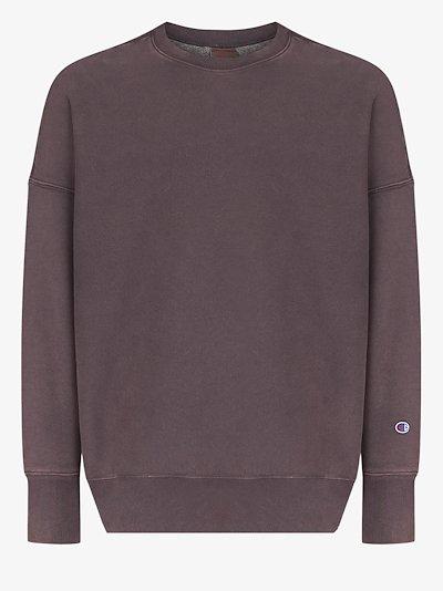 Garment Dyed crew neck sweatshirt