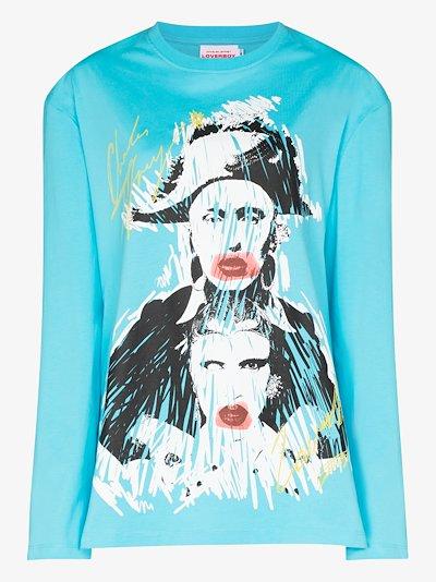 Pout printed sweatshirt