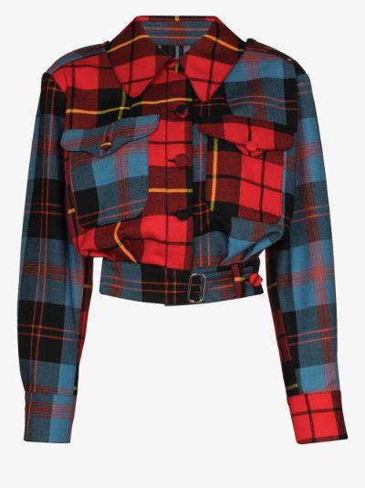 X Browns 50 Civil Uniform tartan jacket