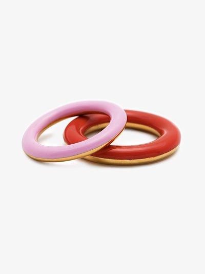 Gold Vermeil Brahma Sunset Ring Set