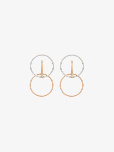 sterling silver Galilea hoop earrings
