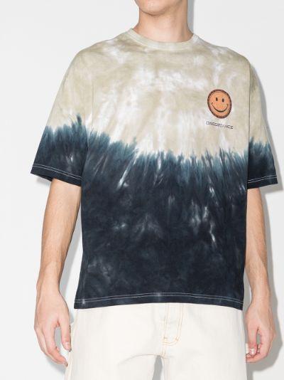 Fish Print Tie-Dye T-Shirt
