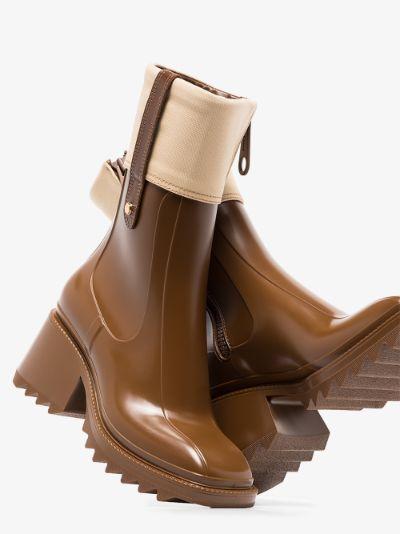 brown Betty 50 rain boots
