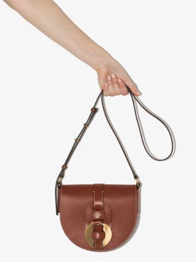 brown Darryl leather shoulder bag