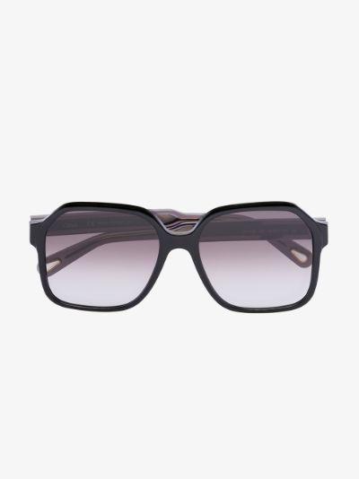 black Willow square sunglasses