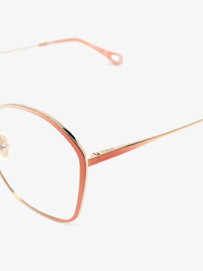 gold tone Irene optical glasses