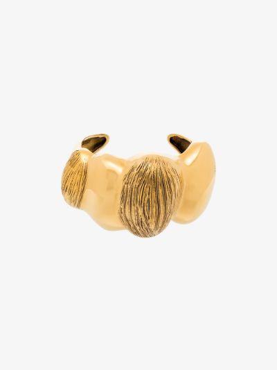 gold tone Trudie cuff bracelet