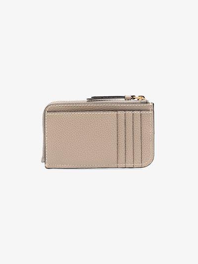 grey Darryl leather coin purse