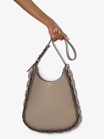 grey Darryl leather shoulder bag