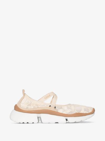 Neutral Sonnie Ballerina sneakers