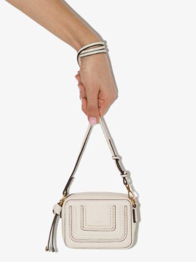 White Marcie Leather mini bag