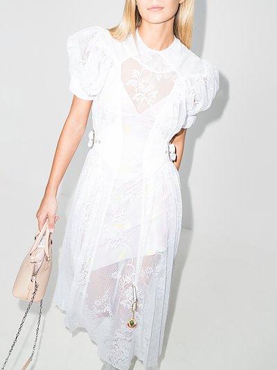 Storm lace midi dress