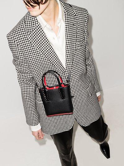 black Cabata leather mini bag