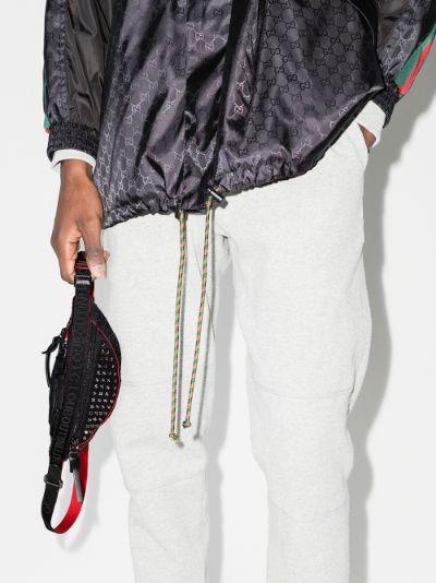 Black ParisNYC cross body bag