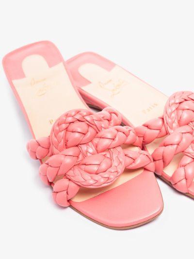pink Marmela leather sandals