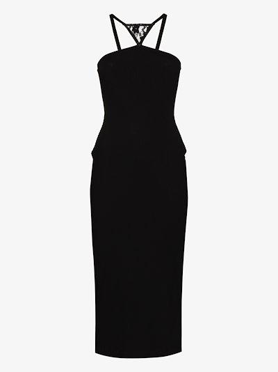 Halterneck Midi Dress