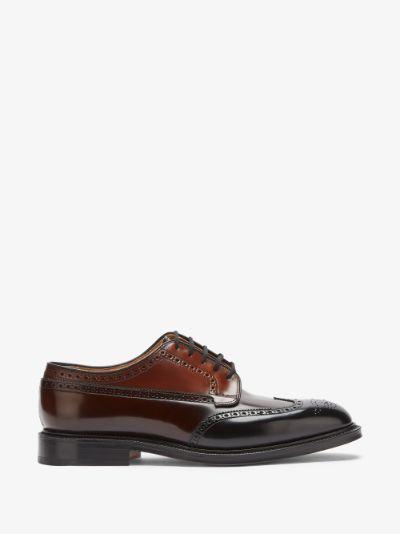 Black Grafton 173 Oxford shoes