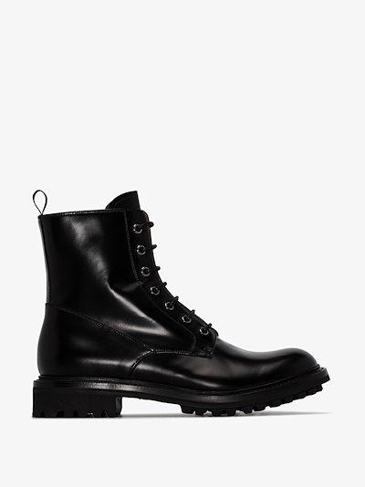 Black Nanalah Leather ankle boots