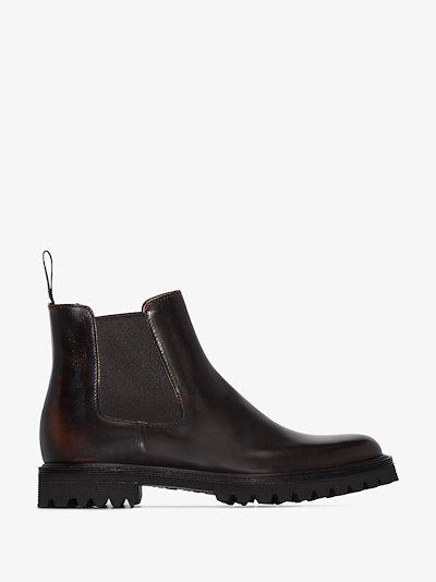 Brown Nirah Chelsea boots
