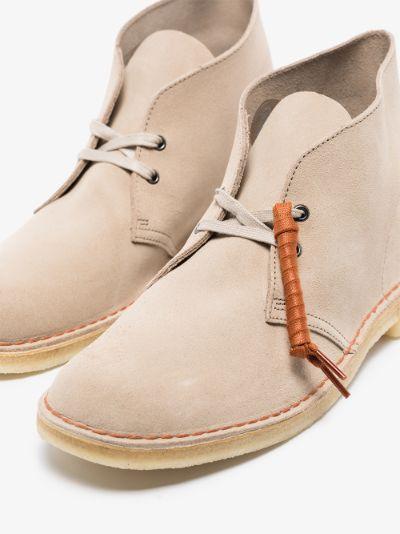 Neutral suede Desert boots