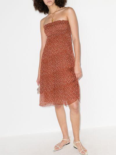 Billie Silk Midi Dress