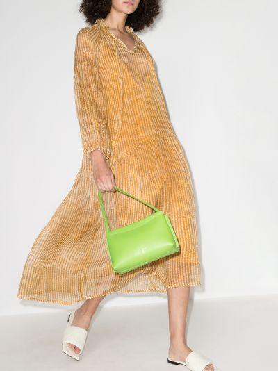 donna silk maxi dress