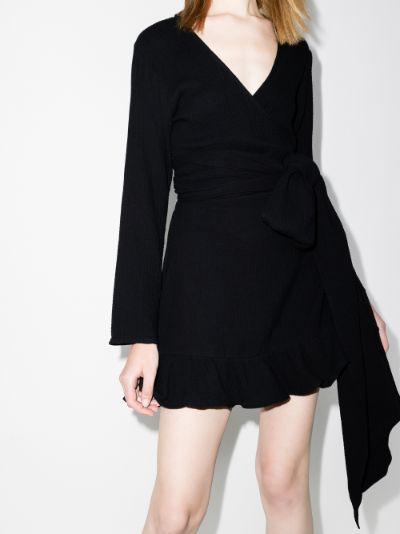 Kimi cotton wrap dress
