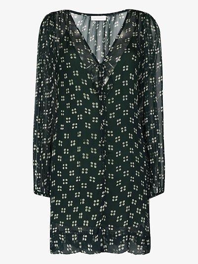 Lea spot print dress