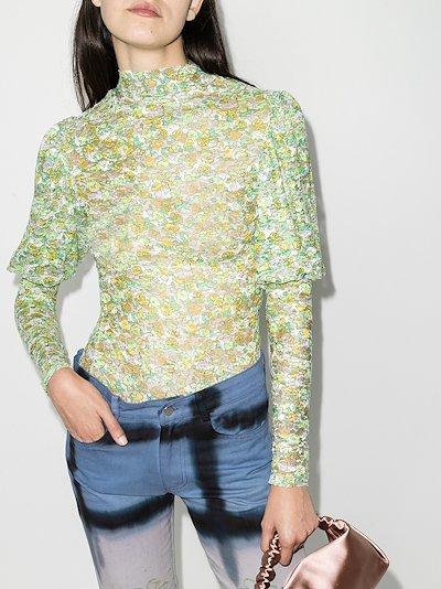Cardio Princess floral blouse