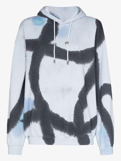 Pool tie-dye hoodie