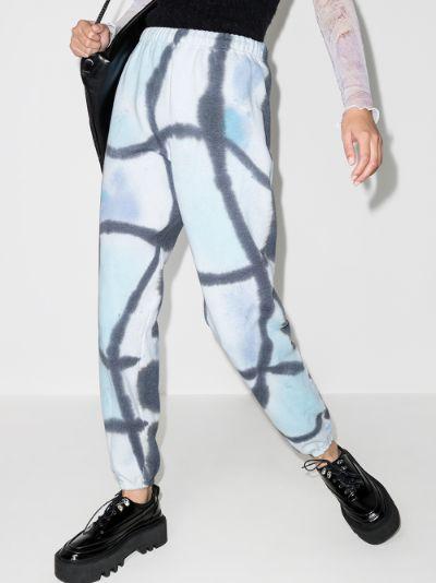 Pool tie-dye sweatpants