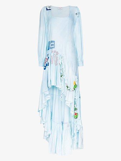 X Browns 50 Garden printed cotton dress