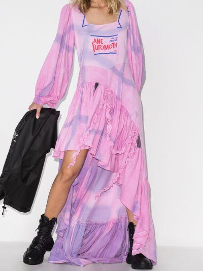 X Browns 50 Garden tie-dye maxi dress