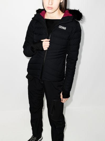 hooded ski jacket