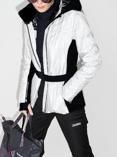 Moonlight Shadow hooded ski jacket