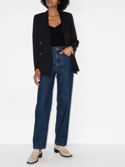 No. 1 straight leg jeans