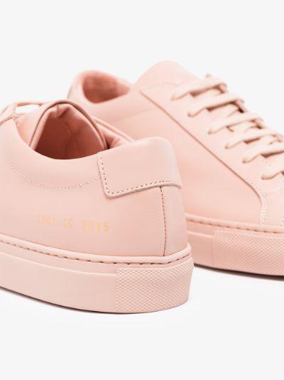 pink Achilles low top sneakers