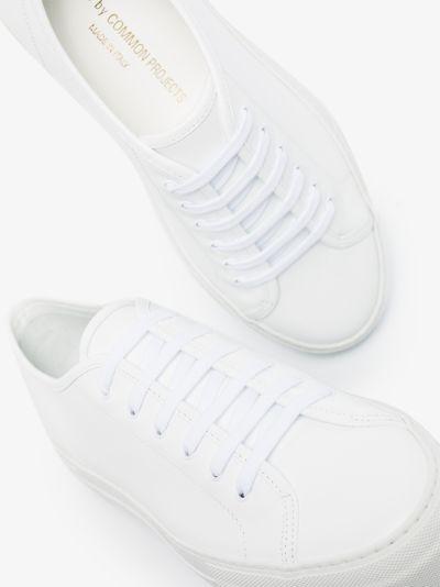 white Tournament Low Super sneakers