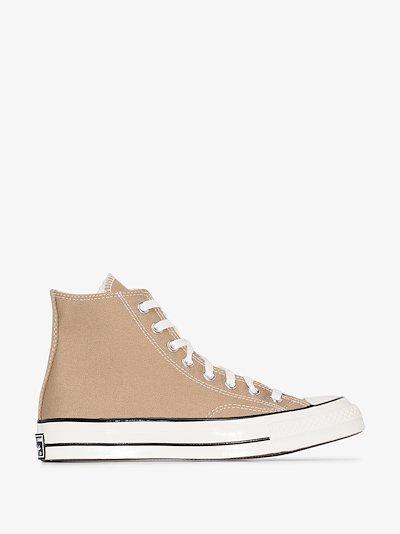Beige Chuck 70 high top sneakers