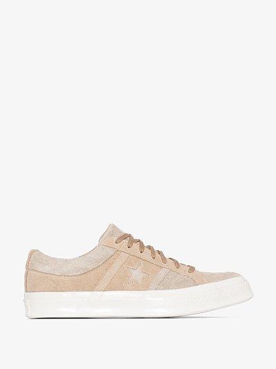 beige One Star Academy low top sneakers