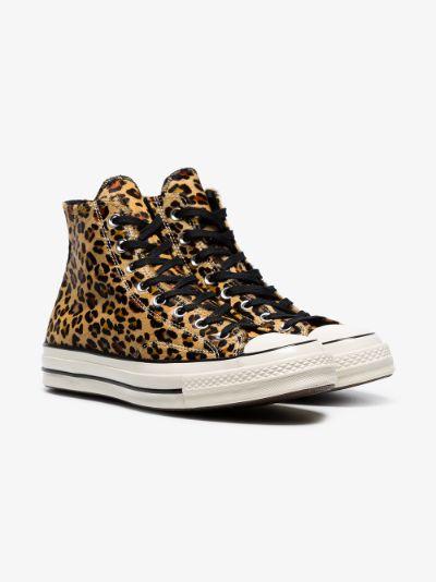 Converse Leopard print Converse Chuck Taylor 70's high top ...
